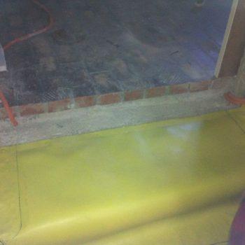 Izolacija podruma pvc membranom