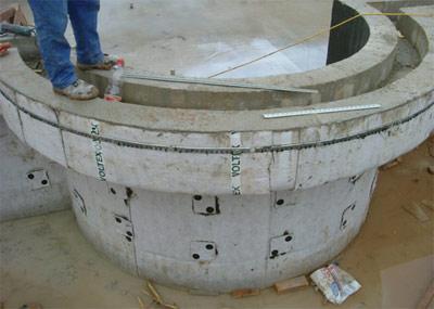 Primjer hidroizolacije bazena Voltexom